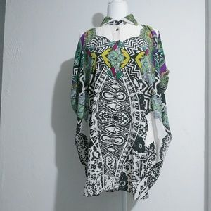 Etro silk tunic top